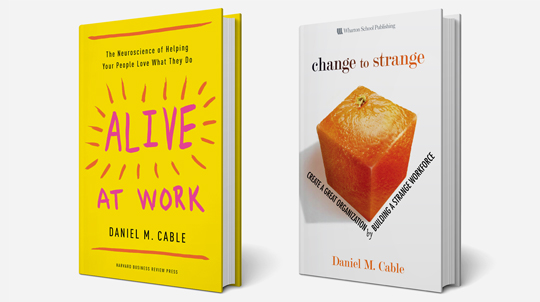 Alive at Work and Change to Strange books