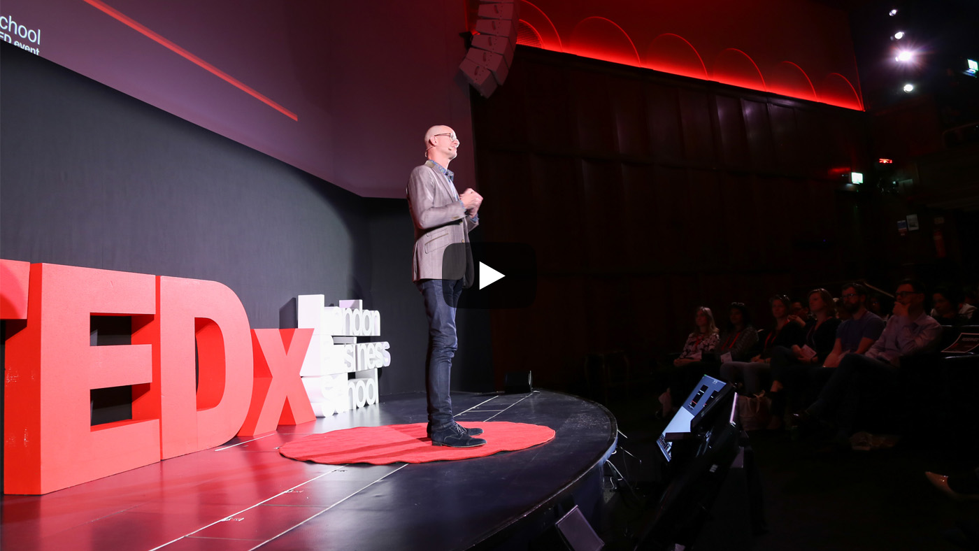 Dan Cable at TEDx video cover